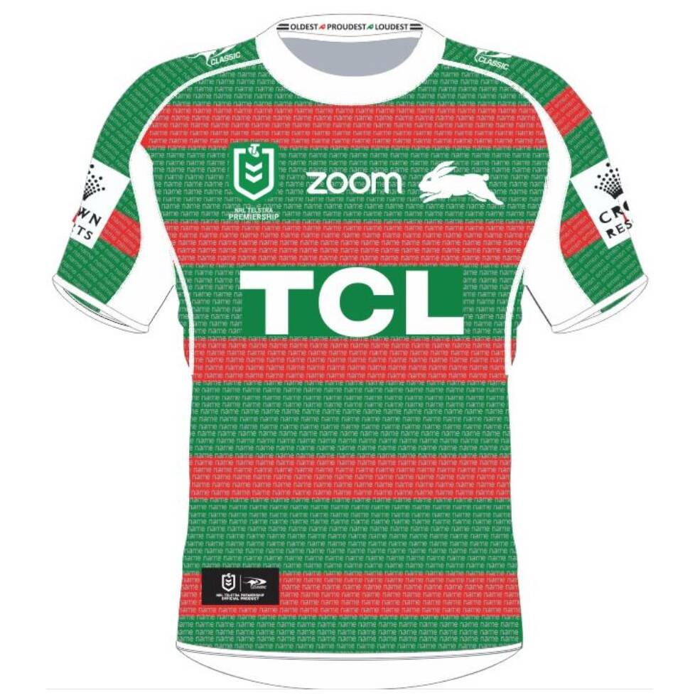 L-Z SURNAMES ONLY || LADIES RABBITOHS 'THANK YOU' AWAY PLEDGE JERSEY0