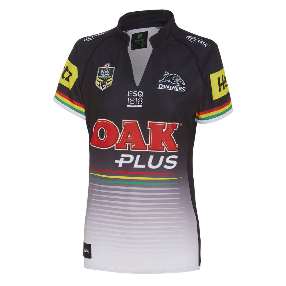 newest 4069d e694d PENRITH PANTHERS LADIES HOME JERSEY