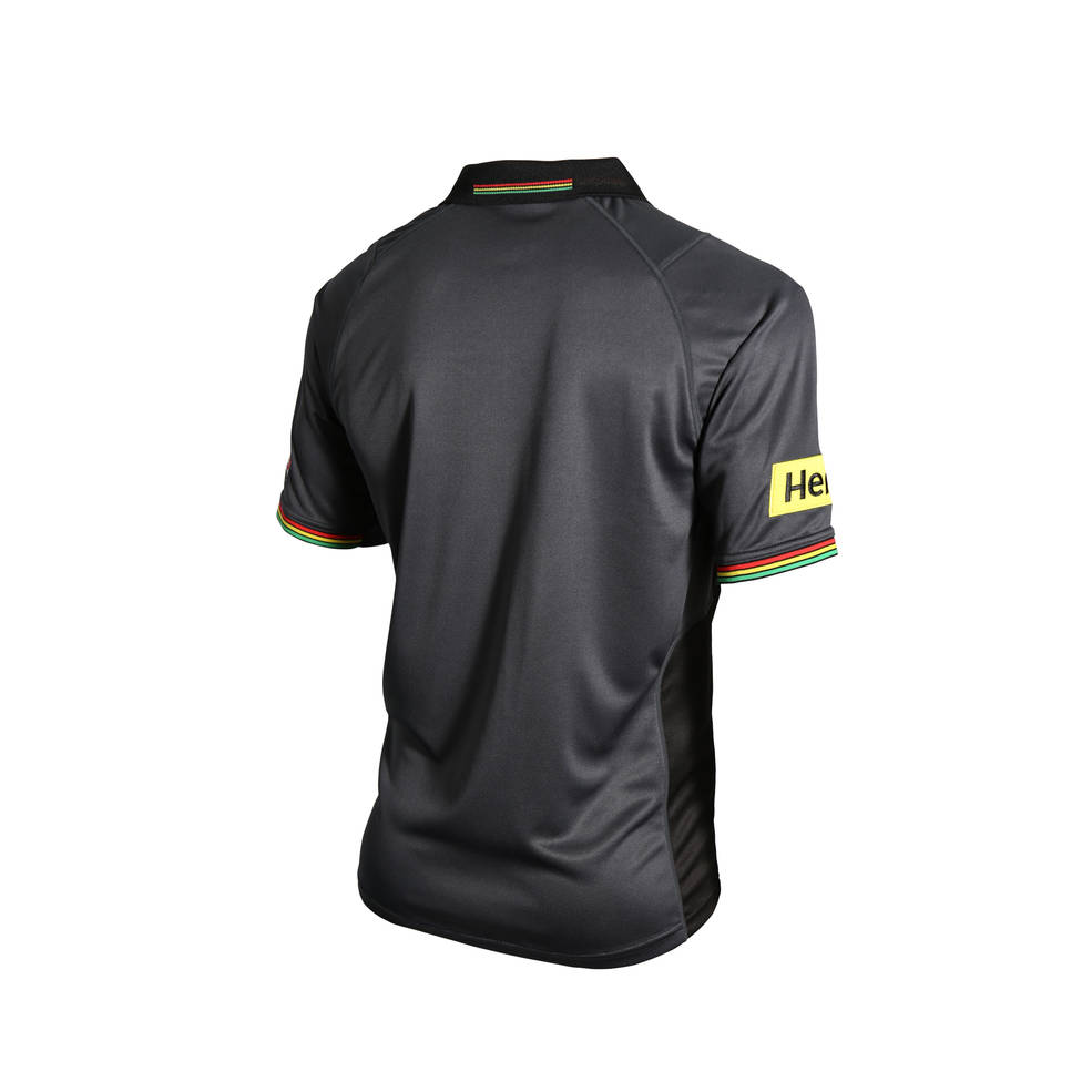 PENRITH PANTHERS MENS MEDIA POLO1
