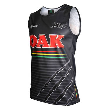 PENRITH PANTHERS MENS TRAINING SINGLET