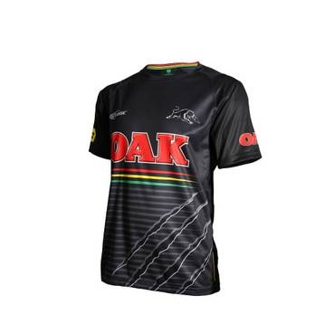 PENRITH PANTHERS MENS GREY TRAINING TEE