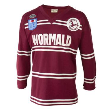 MANLY SEA EAGLE 1987 HERITAGE JERSEY