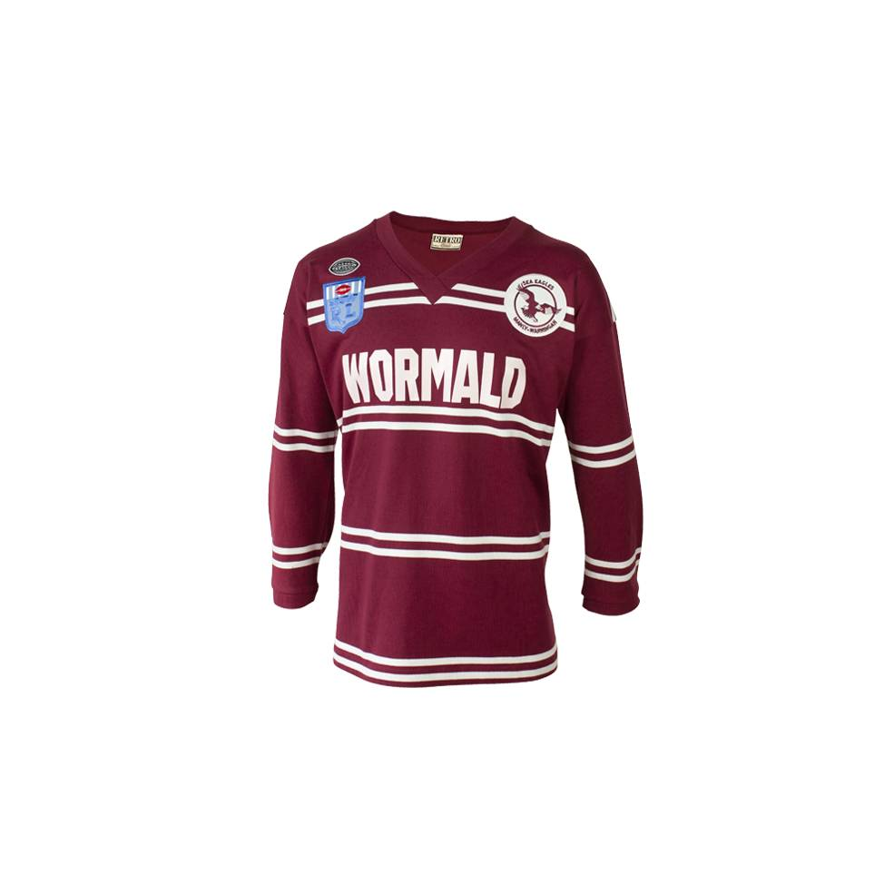 MANLY SEA EAGLE 1987 HERITAGE JERSEY0