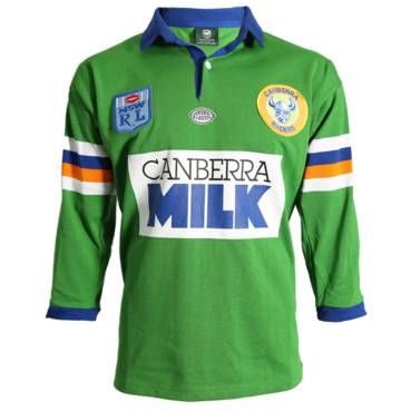 CANBERRA RAIDERS 1994 HERITAGE JERSEY