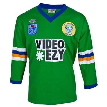 CANBERRA RAIDERS 1990 HERITAGE JERSEY