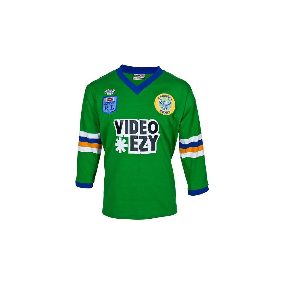 CANBERRA RAIDERS 1990 HERITAGE JERSEY0