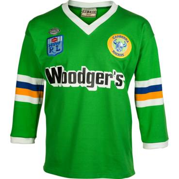 CANBERRA RAIDERS 1989 HERITAGE JERSEY