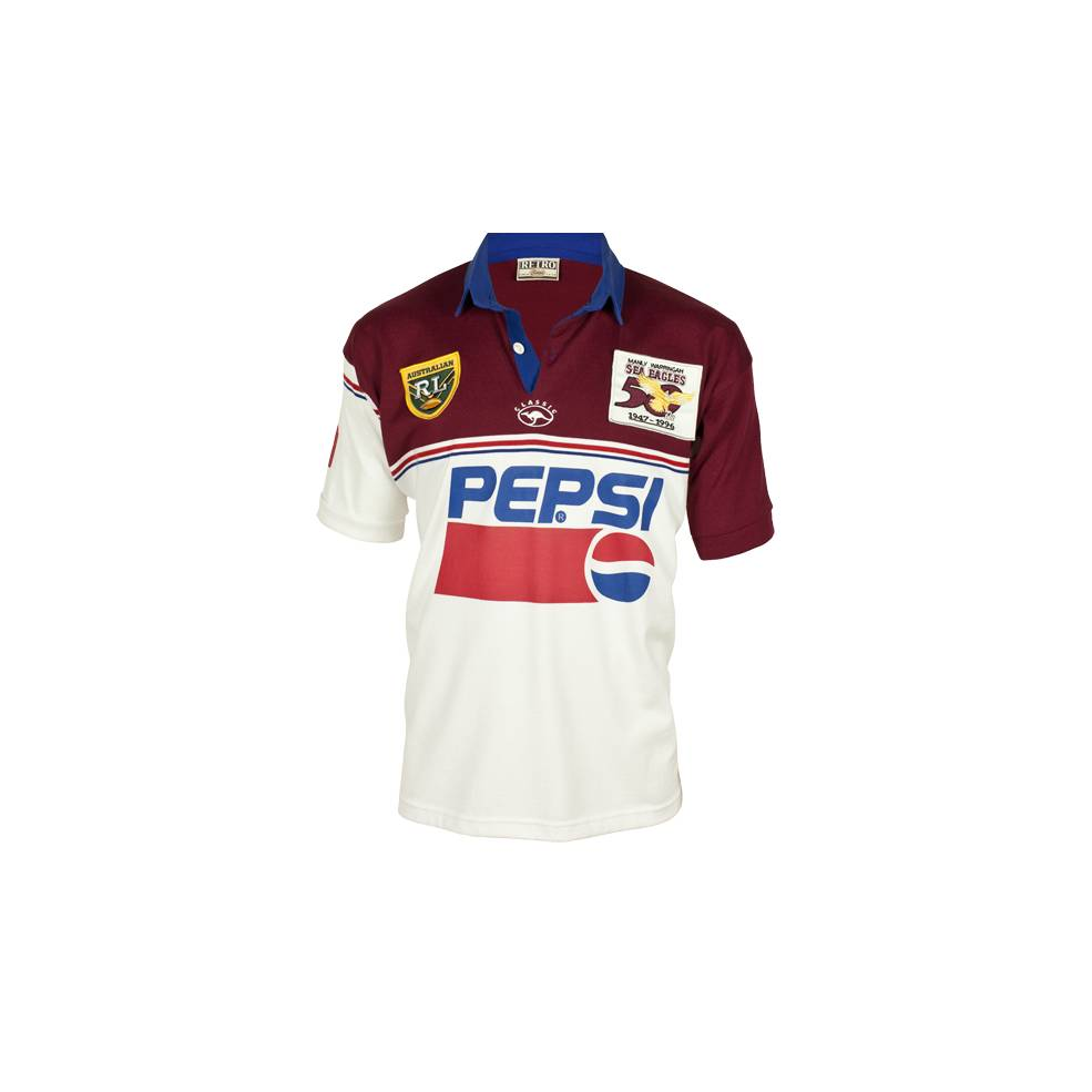MANLY SEA EAGLES 1996 HERITAGE JERSEY0