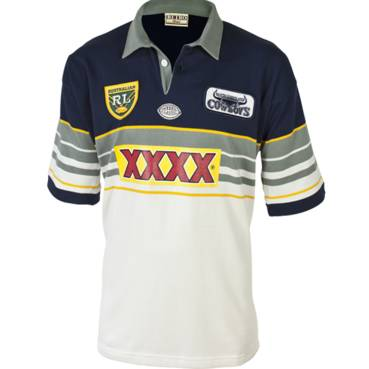 NORTH QLD COWBOYS 1995 HERITAGE JERSEY