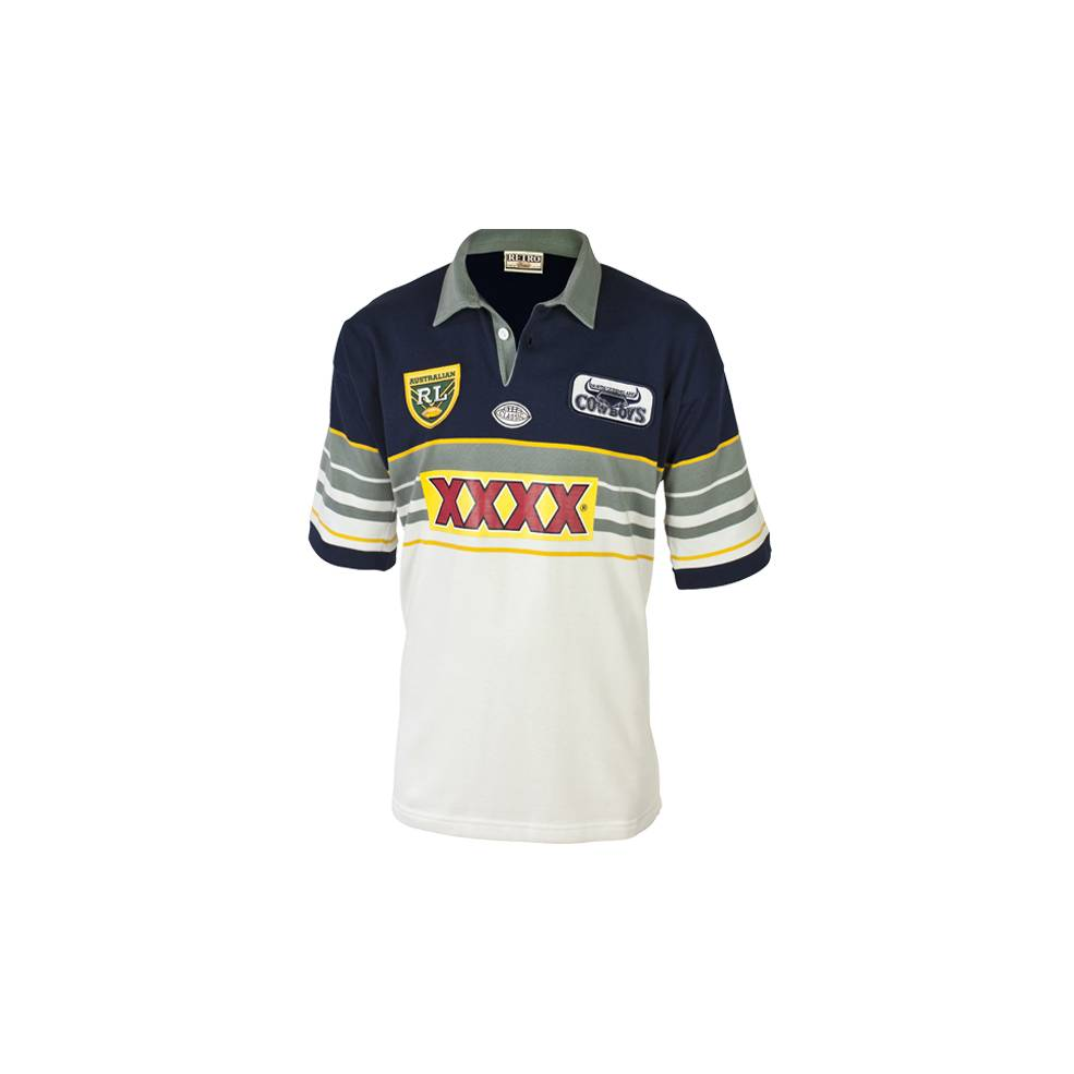 official photos 28a4a 7b9fc NORTH QLD COWBOYS 1995 HERITAGE JERSEY