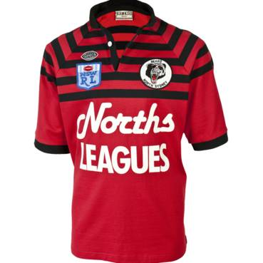 NORTH SYDNEY BEARS 1991 HERITAGE JERSEY