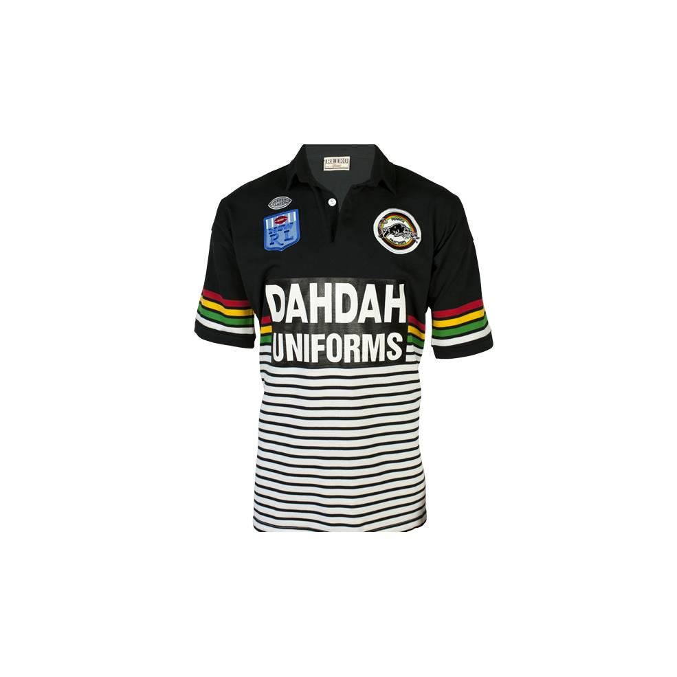 PENRITH PANTHERS 1991 HERITAGE JERSEY0