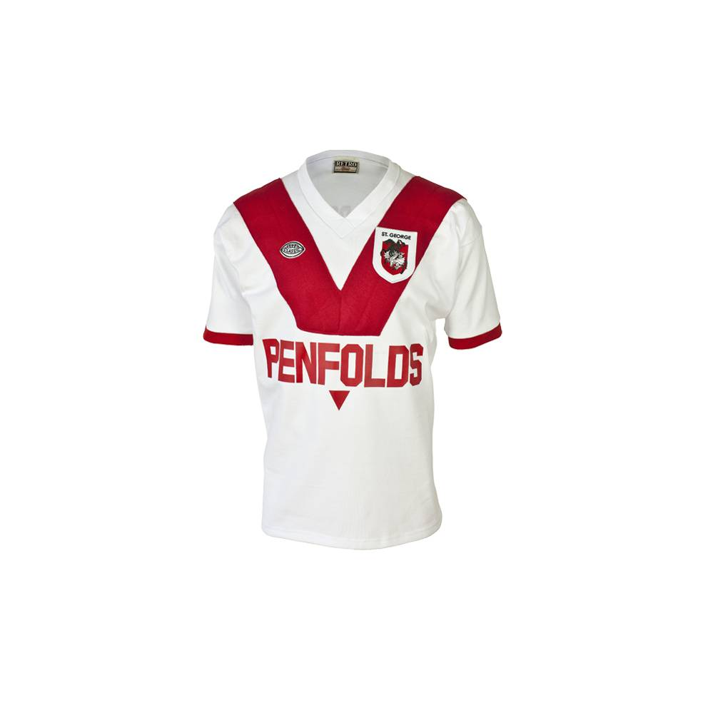 ST GEORGE DRAGONS 1979 HERITAGE JERSEY0