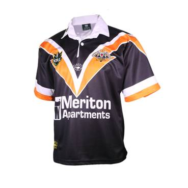 WESTS TIGERS 2000 HERITAGE JERSEY