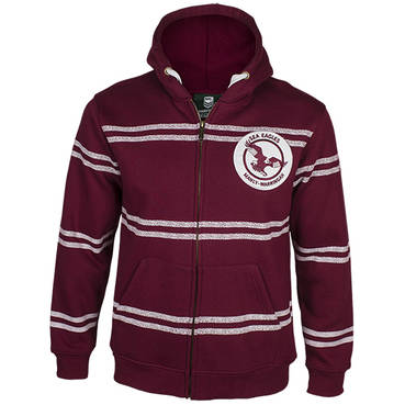 MANLY SEA EAGLE MENS HERITAGE HOODIE