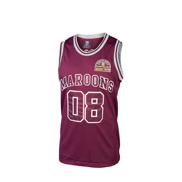 QLD MENS HERITAGE BASKETBALL SINGLET