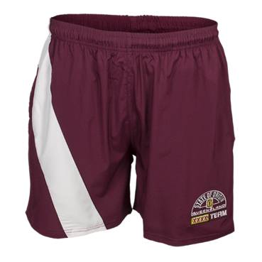 QLD SOO HERITAGE MENS TRAINING SHORTS