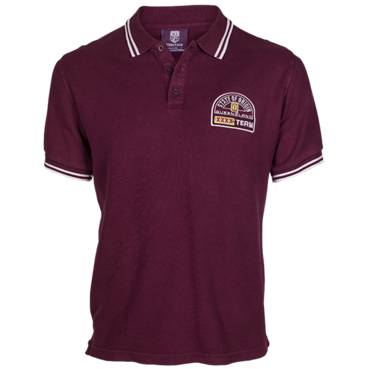 QLD SOO HERITAGE MENS POLO SHIRT