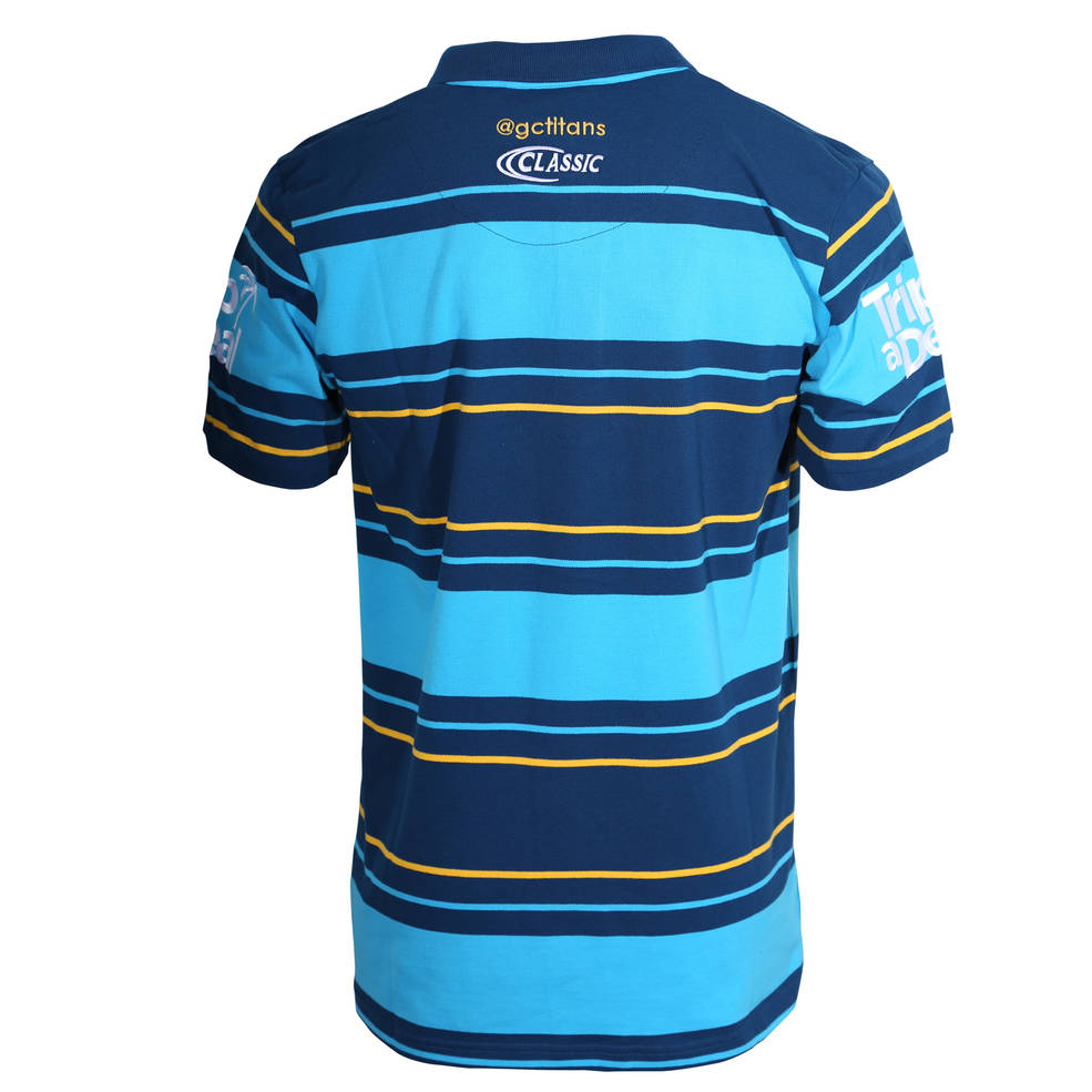 GOLD COAST TITANS MEDIA POLO LADIES1