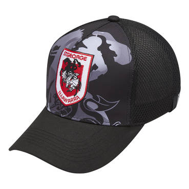 ST GEORGE DRAGONS MENS MESH BASEBALL CAP