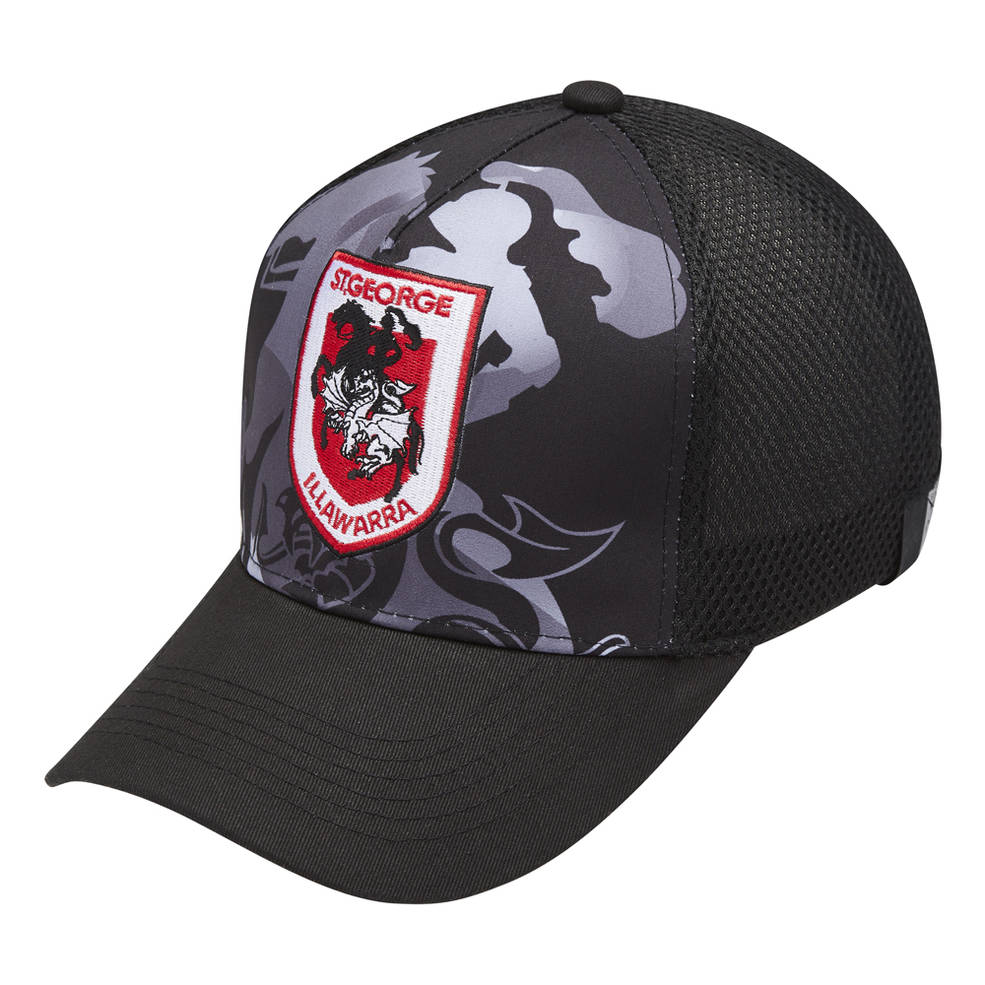 ST GEORGE DRAGONS MENS MESH BASEBALL CAP0