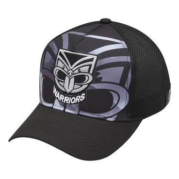 NEW ZEALAND WARRIORS MEN'S MESH BASEBALL CAP