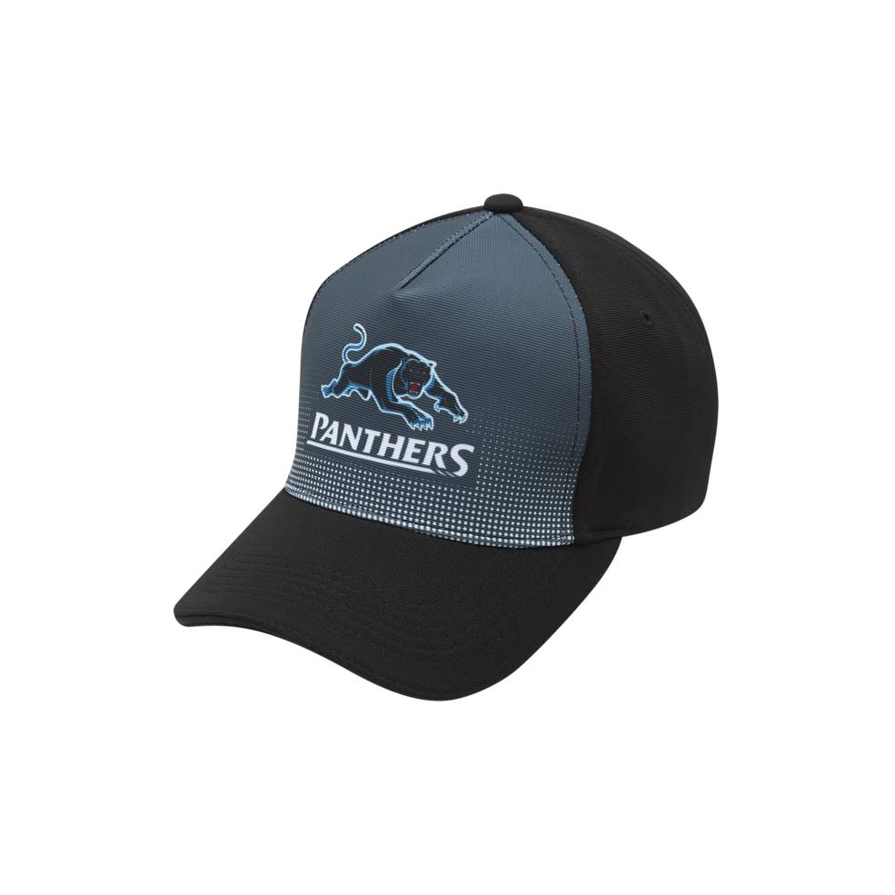 PENRITH PANTHERS POLYESTER CURVE CAP0