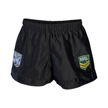 CANTERBURY BULLDOGS YOUTH NRL SUPPORTER SHORTS