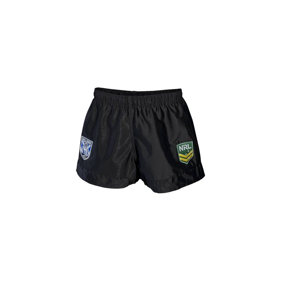 BULLDOGS HERITAGE NRL YOUTH SUPPORTER SHORTS0