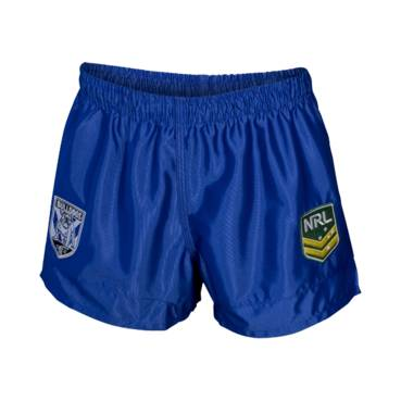 BULLDOGS HOME NRL YOUTH SUPPORTER SHORTS