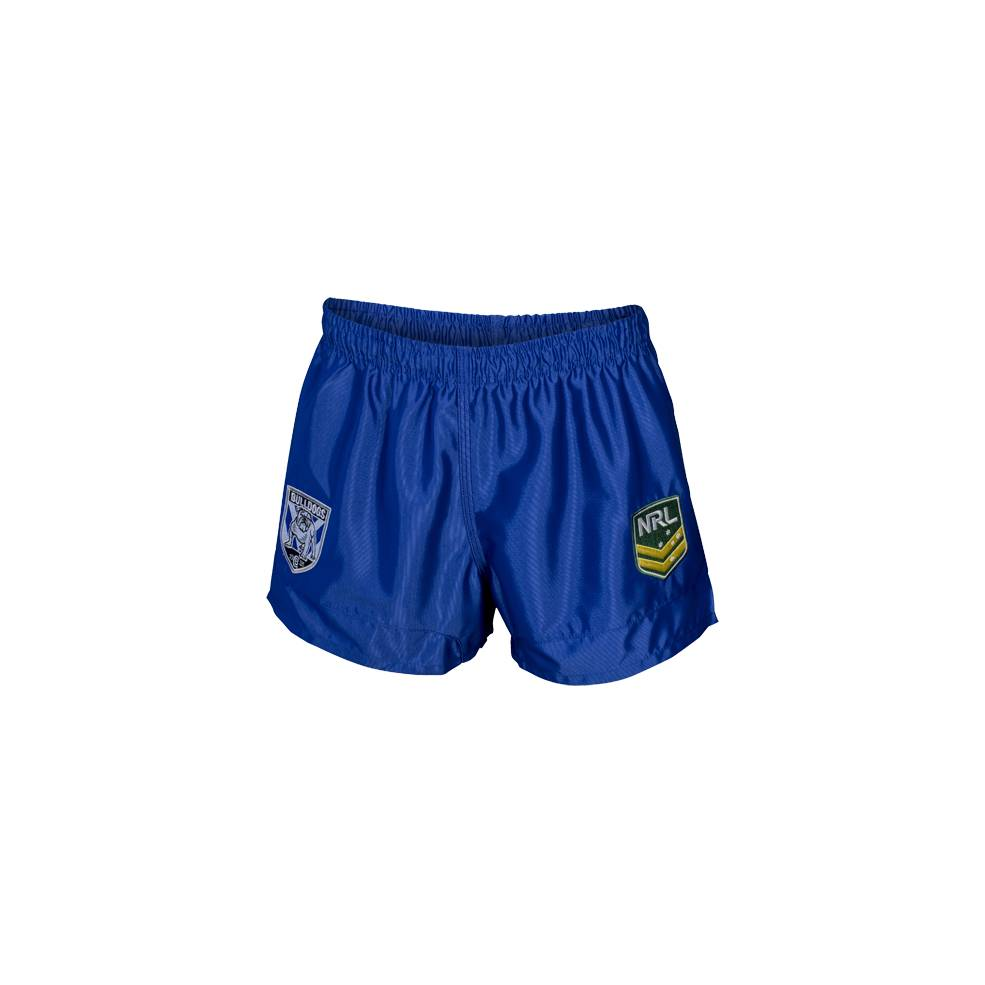 BULLDOGS HOME NRL YOUTH SUPPORTER SHORTS0